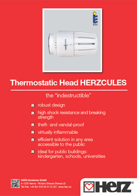Thermostatic Head HERZCULES