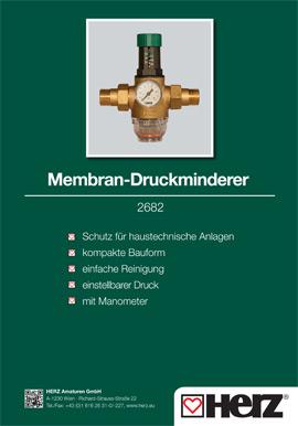 Membran-Druckminderer