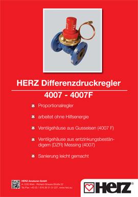 Differenzdruckregler 4007